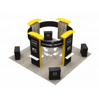 Buy cheap 6X6 M Trade Show Exhibits Displays Eco Friendly Grafics Wrinkle Free Easy Assemble product