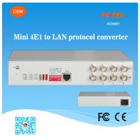 Buy cheap 4E1 BNC Connector to 10/100Mbps Fibre Optic Switch Ethernet from wholesalers