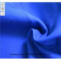 Buy cheap Royal Blue Plain Fire Retardant Fabric / Flame Resistant Textiles Light Weight from wholesalers
