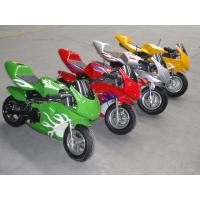 Buy cheap 49cc,Pocket Bike,single cylinder,2-stroke. pull sttart. gas:oil=25:1.with good quality from wholesalers