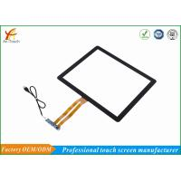 Quality High Sensitive Transparent Glass Touch Panel , 17 Inch Touch Screen Panel for sale