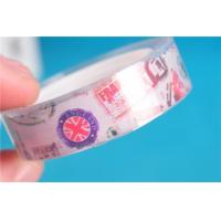 Buy cheap Acrylic Glue Paper Clear Packing Tape , BOPP DIY Office / School Tape from wholesalers