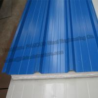 Buy cheap Metal EPS Insulated Sandwich Panels House Sandwich Panel Roofing from wholesalers