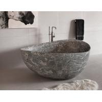 Buy cheap Granite Juparana Grey Natural Stone Bathtub Standard Size 160 X 90 Cm For Bathroom from wholesalers