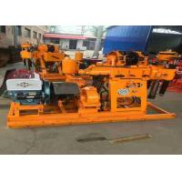Buy cheap Geotechnical Exploration Portable Water Well Drilling Rigs With 30-300m Drilling Depth from wholesalers