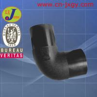 Buy cheap hdpe plastic pipe fittings butt fusion 90 elbow from wholesalers
