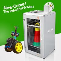 Buy cheap PLA ABS large 3d printer home 3M gear belt high stability rapid 3d printing from wholesalers