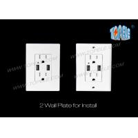 Buy cheap Smart High Speed USB Charger 15A Tamper - Resistant Outlet Indoor Use Only from wholesalers