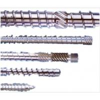 Buy cheap Customized Size Extruder Screw Barrel For Plastic Extruder Machine Nitriding Treatment from wholesalers