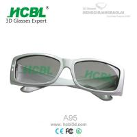 Buy cheap Unique Stylish High Definition IMAX 3D Glasses For VIP Card Distinguished Guest from wholesalers