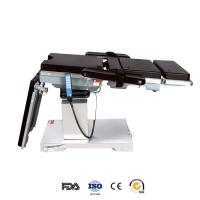 Buy cheap Double Control Hydraulic Surgical Electric Operating Table Adjustable For Operating Room from wholesalers