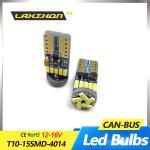 Buy cheap T10 Canbus Led Interior Light Bulbs , 16V 15SMD 4014 Car Interior Light Bulbs from wholesalers