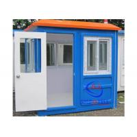 Buy cheap Prefabricated Low Cost Fiberglass Sentry Box / Guard Shacks and Booths Well- designed from wholesalers