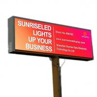 Buy cheap Fixed led Advertising Billboard Video Screen Outdoor Waterproof P8 5000CD/sQM from wholesalers