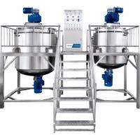 Buy cheap Durable Shampoo Cosmetic Mixing Machine Welded Reactor With Transfer Pump from wholesalers