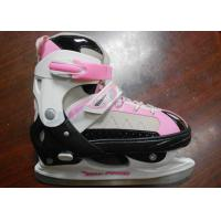 Buy cheap Girls High Impact Cold-proof Nylon Ice Skating Shoes For Beginner with Stainless Steel Blade from wholesalers