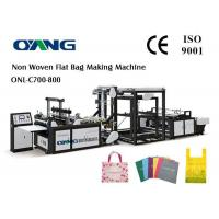 Buy cheap D - Cut Automatic Non Woven Bag Making Machine from wholesalers