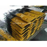 Buy cheap Portable Barrier Driveway Speed Bumps Heavy Duty , Custom Rubber Speed Breaker from wholesalers