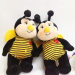Buy cheap honey bee stuffed toy,plush honey bee,custom animal honey bee toy from wholesalers