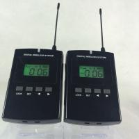 Buy cheap Portable 008C Wireless Audio Guide System 800Mhz Tour Guide Device CE / ROHS Certification from wholesalers