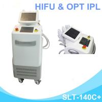 Buy cheap 2 In 1 OPT IPL Hair Removal Machine , Ultherapy HIFU Machine For Skin Tightening from wholesalers
