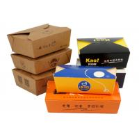 Buy cheap Fast Food Carrier Packaging Eco Friendly Paper Cups / Restaurant Take Out Boxes from wholesalers