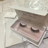 Buy cheap Cheap eyelash synthetic silk PBT/PET material tip mellow lashes gift flat box from wholesalers