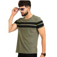 Buy cheap Solid Pattern Stylish Mens T Shirts Plain Dyed Technics Jersey Fabric Customized Color from wholesalers