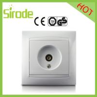 Buy cheap Single Wall TV Electrical Socket Outlet from wholesalers