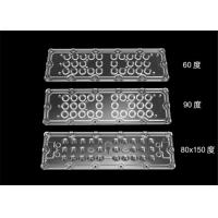 Buy cheap PMMA / PC Material LED Light Lens High Luminous Flux With PCB Board / Cluster Holders from wholesalers