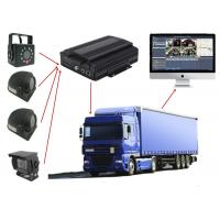 Buy cheap Van Security 3G Mobile DVR 12V Car CCTV Web Based Vehicle Tracking System product