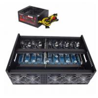 Buy cheap 4u 9gpu mining rig case for Bitcoin Litecoin ZEC ETH rackmount chassis eth mining from wholesalers