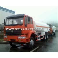 Buy cheap Fuel Transportation Oil Tank Truck 6x4 25 CBM With HF7 Front Axle and ST16 Rear Axle product