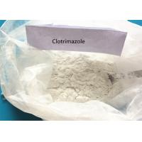 Buy cheap Active Pharmaceutical USP Powder Clotrimazole For Antifungal CAS 23593-75-1 from wholesalers
