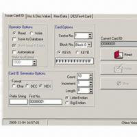 Buy cheap Access Control System with Issue Card, Hex Data and DesFire4 Card Features  from wholesalers