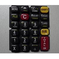 Buy cheap Glossy Oil 3 Color Printing Silicone Rubber Mold For Keypad from wholesalers