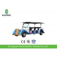 Buy cheap Battery Operated Vintage Electric Car , 8 Seater Electric Passenger Vehicle With Sunshade from wholesalers