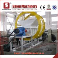 Buy cheap double shaft tire shredding machine from wholesalers