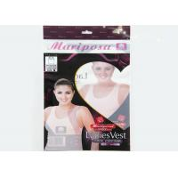 Buy cheap Moistureproof Header Card Clear Polypropylene Bags With Seal Strip from wholesalers
