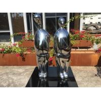 Buy cheap Abstract Figure Indoor Metal Sculptures Stainless Steel Custom Size For Home Decoration from wholesalers