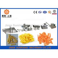 Buy cheap Low Consumption Snack Food Production Line , Frying Kurkure Cheetos Nik Naks Machine from wholesalers