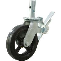 Buy cheap Scaffolding caster with brake pedal from wholesalers