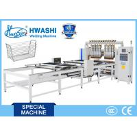 Buy cheap Hwashi Kitchen Wire Basket Welding Machine, Automatic Welded Wire Mesh Welding Machine from wholesalers