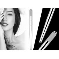 Buy cheap 3D Embroidery Heavy Silver Manual Tattoo Pen Eyebrow Hairstroke Microblading Pen from wholesalers
