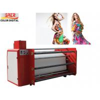 Buy cheap 1.6m Roll to Roll calander heat Transfer Press Printing Machine for Fabric from wholesalers