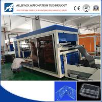 Buy cheap Full Automatic Driving Plastic Thermoforming Machinee For Fruit Clamshell Box from wholesalers