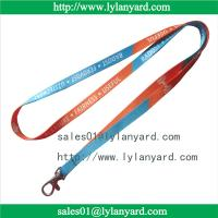 Buy cheap 10mm Dye Sublimation Print Custom Made Lanyard and ID Tag from wholesalers