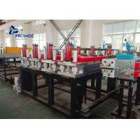 Buy cheap 3 Phase Plastic Sheet Extrusion Machine PVC Powder Conical Twin Screw from wholesalers