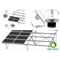 Buy cheap Anodized Ground Mount Solar Racking Systems , DIY Solar Panel Mounting System from wholesalers