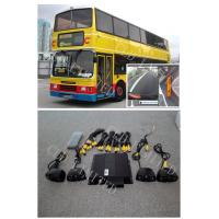 Buy cheap 360 Degree Around View Bus Camera Systems 520TVl HD  CCD Sensor,four-way DVR in Real Time product